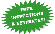 Free inspections and estimates